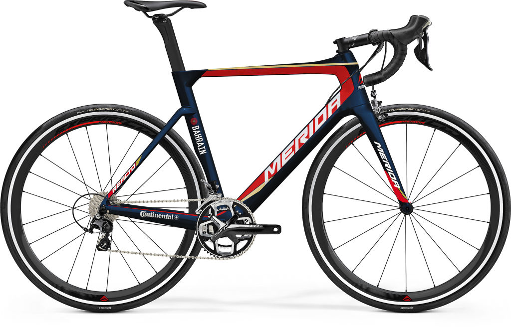 merida reacto 4000 team bahrain merida replica