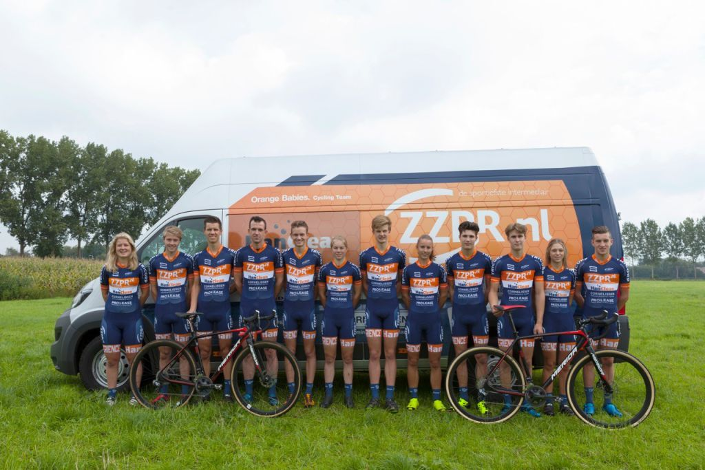 zzpr hanclean orange babies cycling team