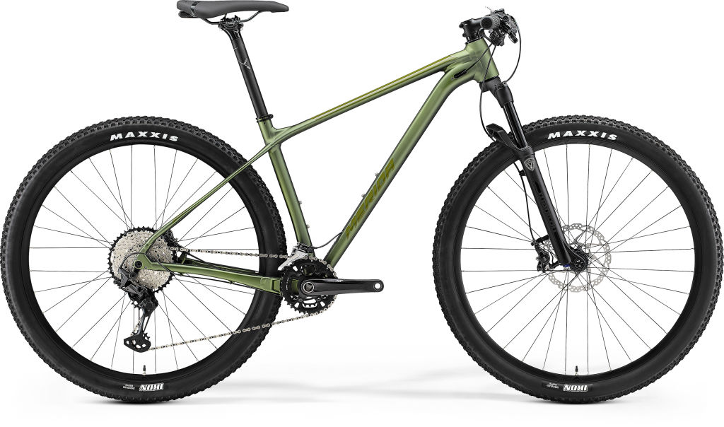 Big Nine 700 Matt Fog Green / Glossy Moss Green