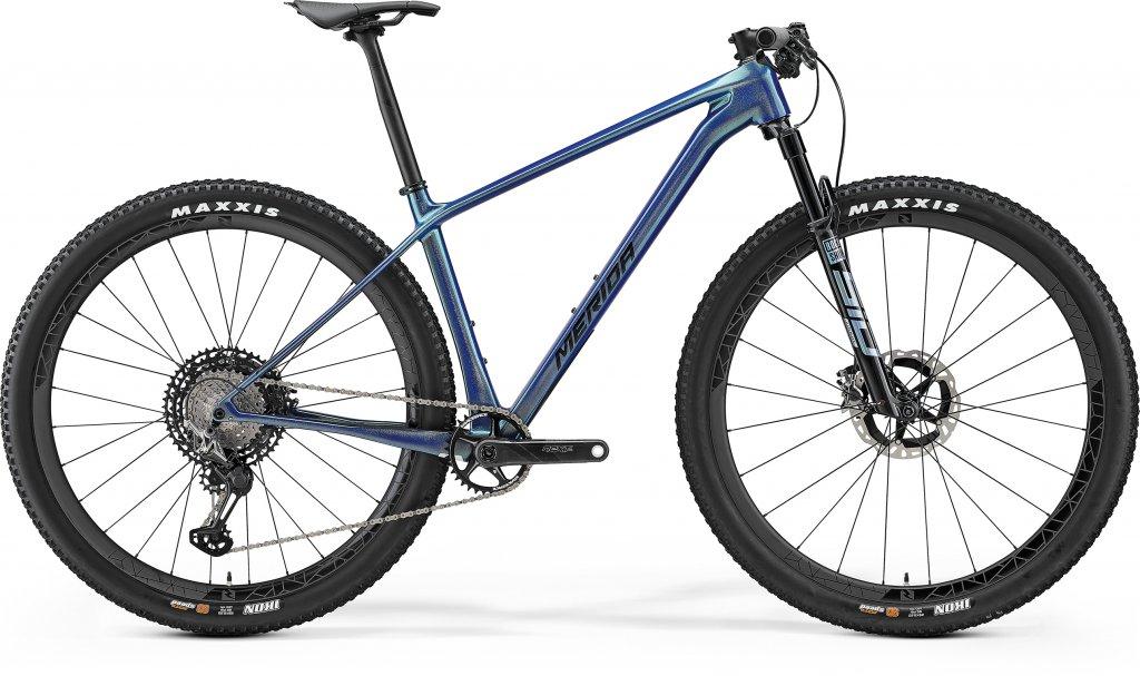 Big Nine 9000 Glossy Sparkling Blue / Black