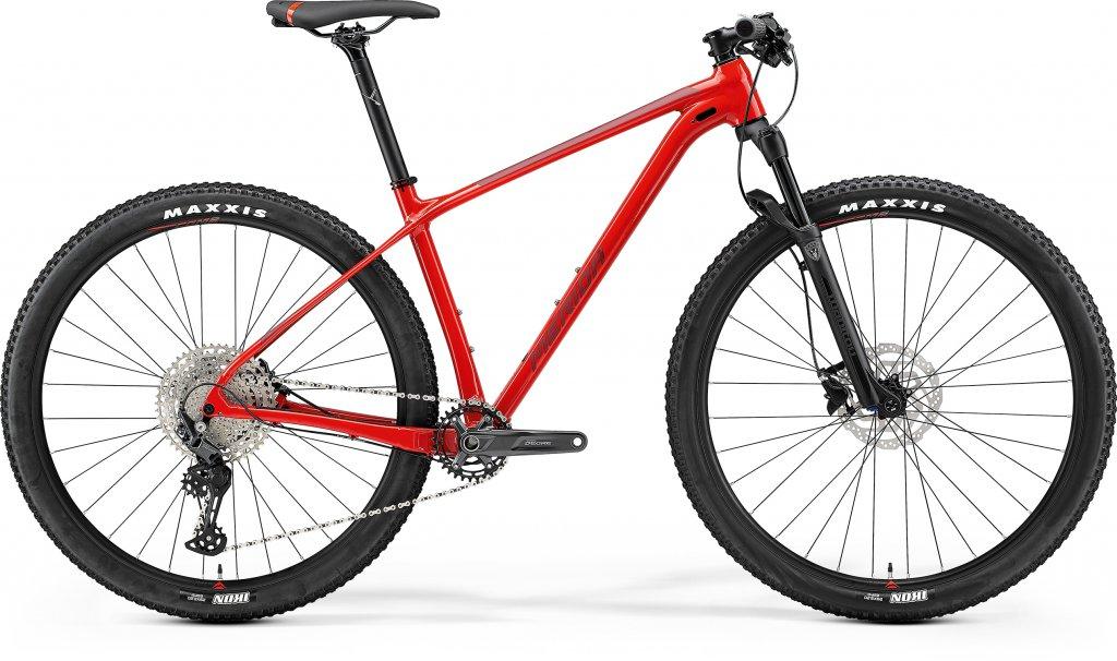 Big Nine Limited Glossy Race Red / Matt Red