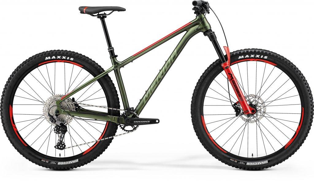 Big Trail 600 Matt Green / Red / Silver Green