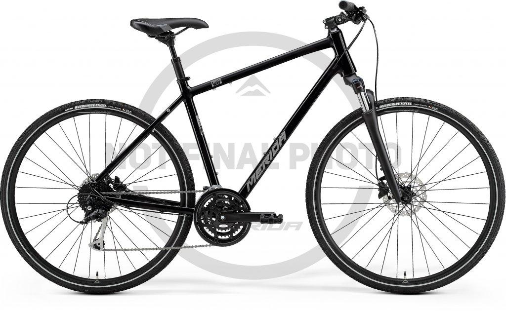 Crossway 100 Glossy Black / Silver