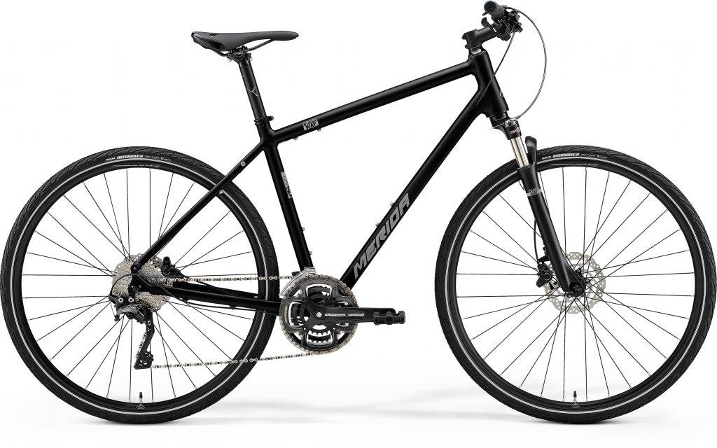 Crossway 500 Glossy Black / Matt Silver