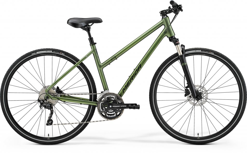 Crossway 300 Matt Fog Green / Dark Green Ladies