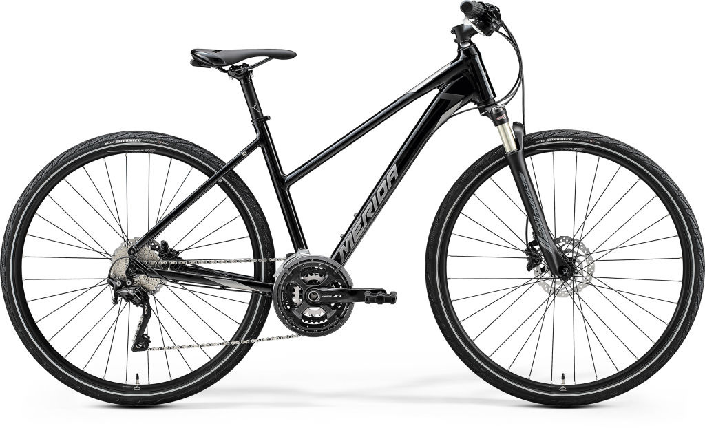 Crossway XT-Edition Ladies Glossy Black / Matt Silver