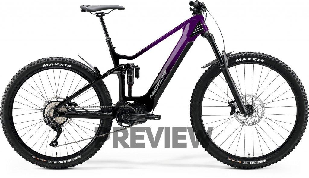 eONE-SIXTY 8000 Glossy Black / Dark Purple