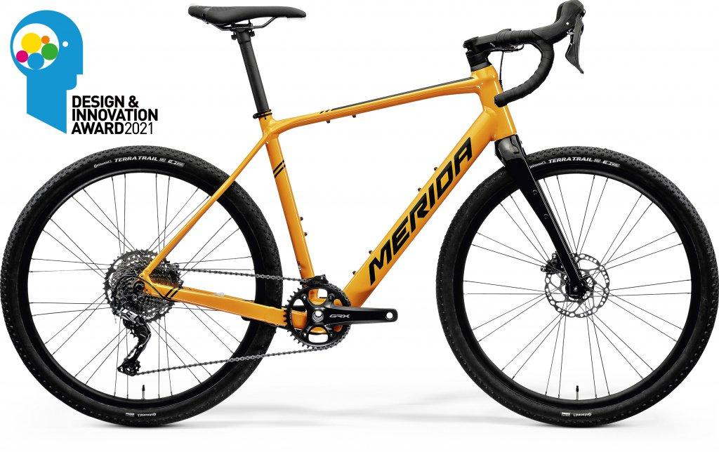 eSILEX PLUS 600 Glossy Orange / Matt Black