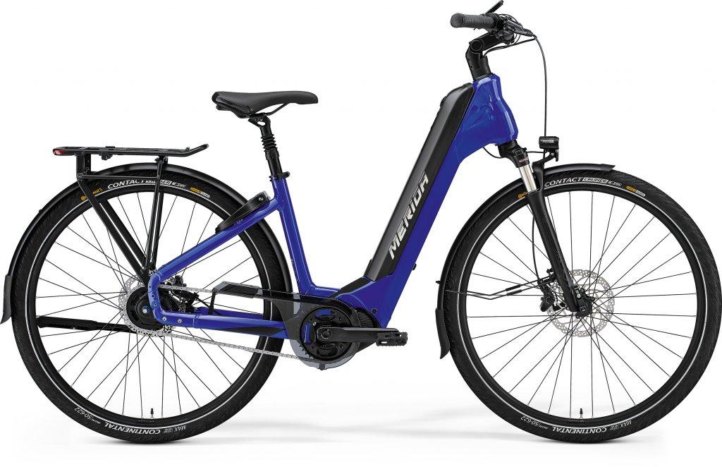 eSPRESSO CITY 800 Glossy Dark Blue / Black
