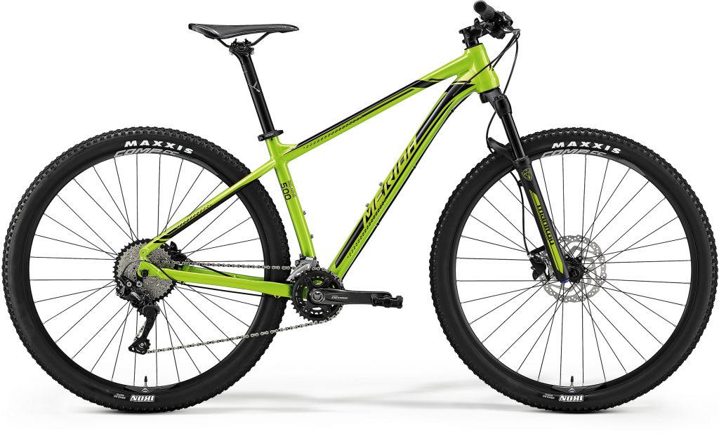 Big Nine 500 Green/Black