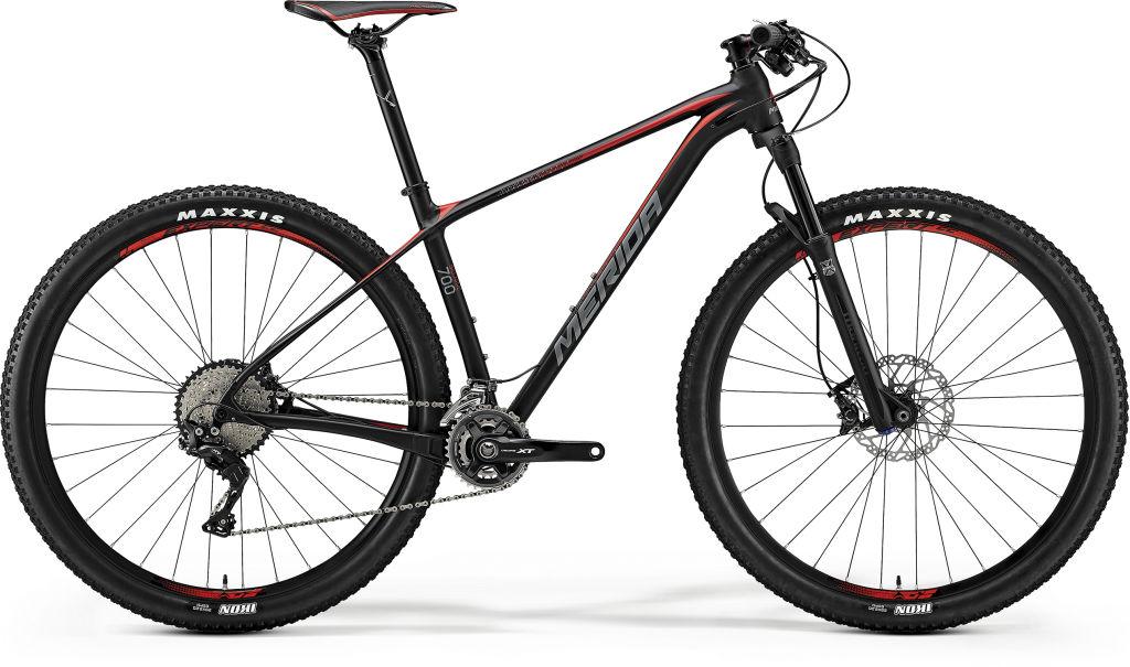 Big Nine 700 Black/Red