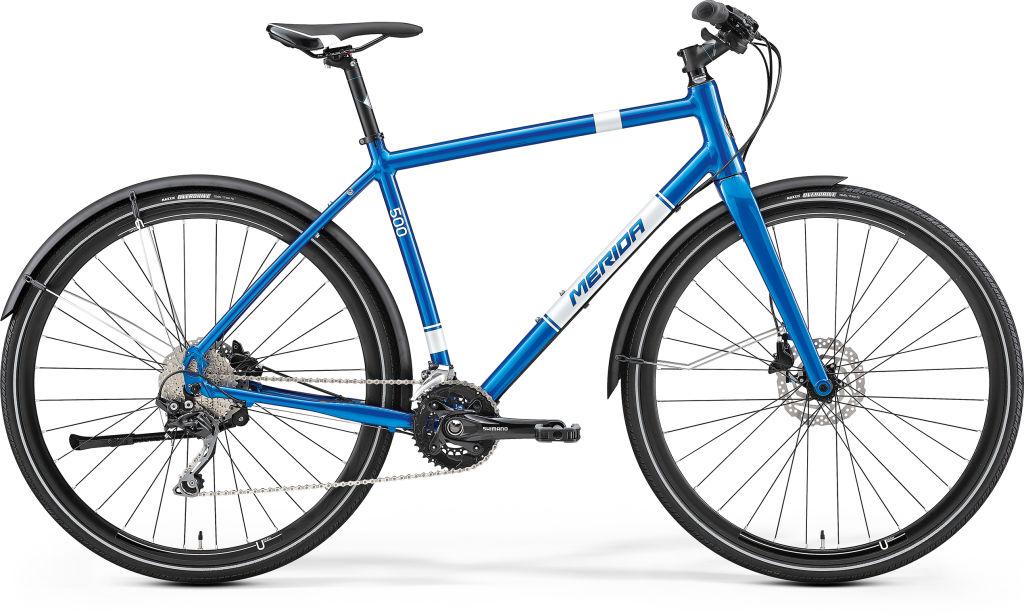 CROSSWAY URBAN 500 metallic blauw