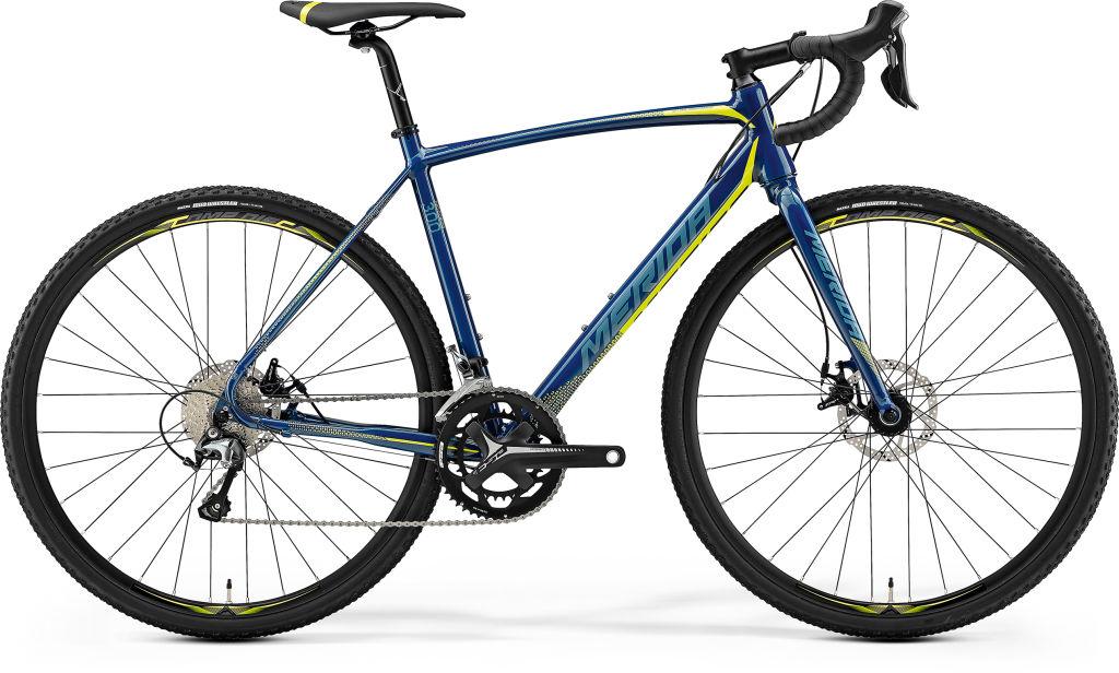 Cyclo Cross 300 Petrol/Yellow