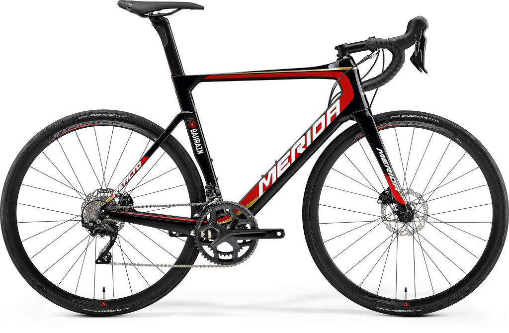 Reacto Disc 4000 Bahrain Merida Black/Red