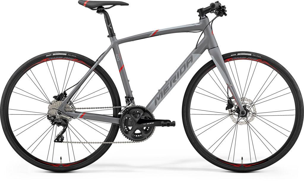Speeder 400 Grey/Red