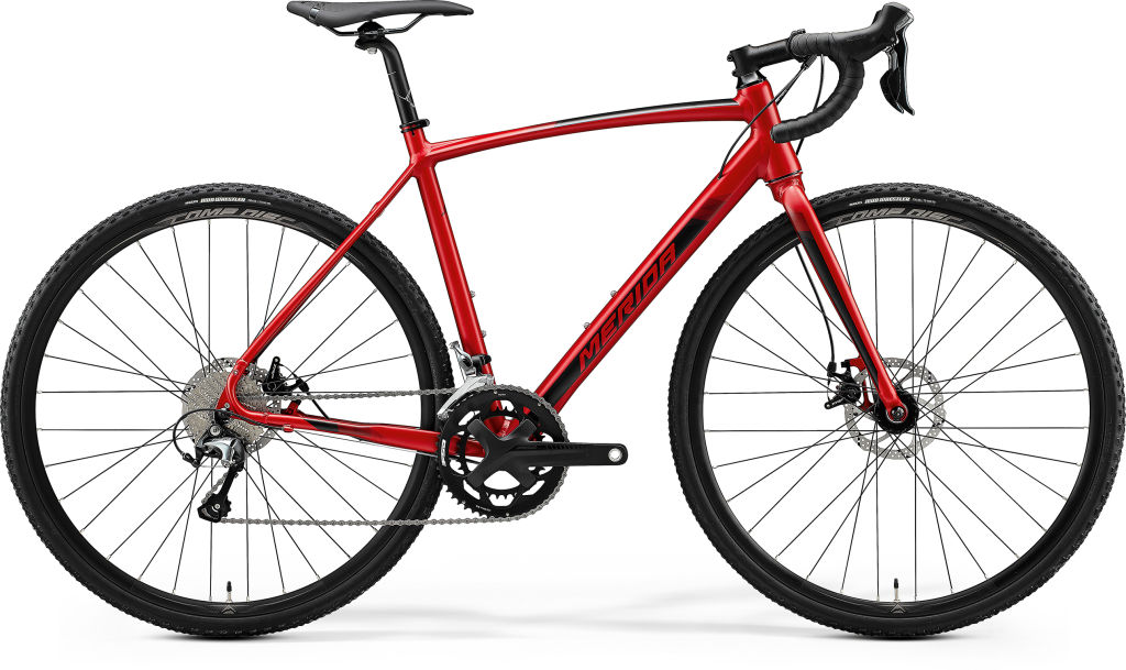 Mission CX 300 SE Silk Christmas Red / Black