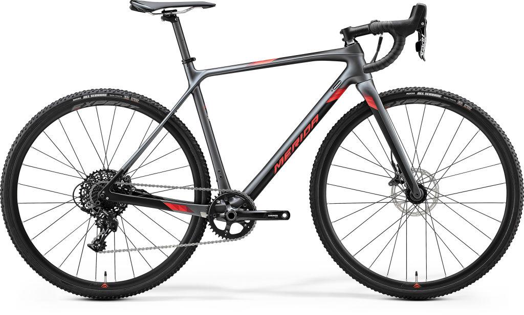 Mission CX 5000 Silk Dark Silver / Black / Red