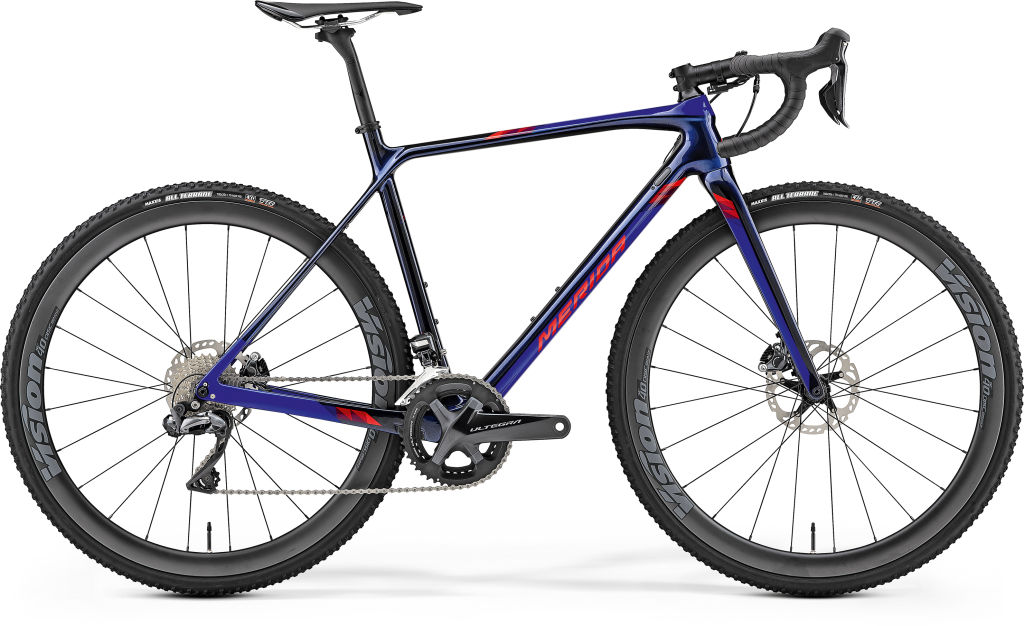 Mission CX 8000-E Glossy Blue / Red