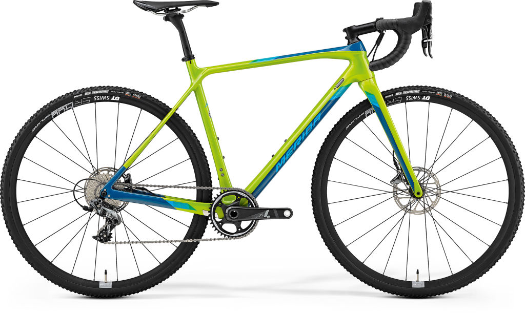 Mission CX 8000 Glossy Green / Blue