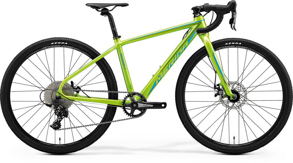 Mission J CX Metallic Green / Blue