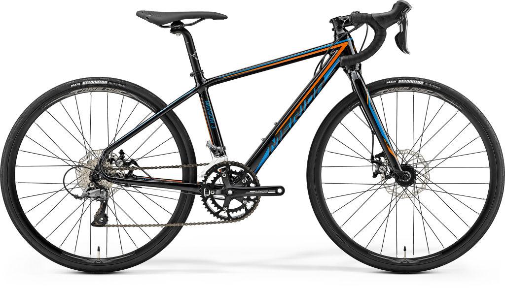 Mission J Road Black / Orange / Blue