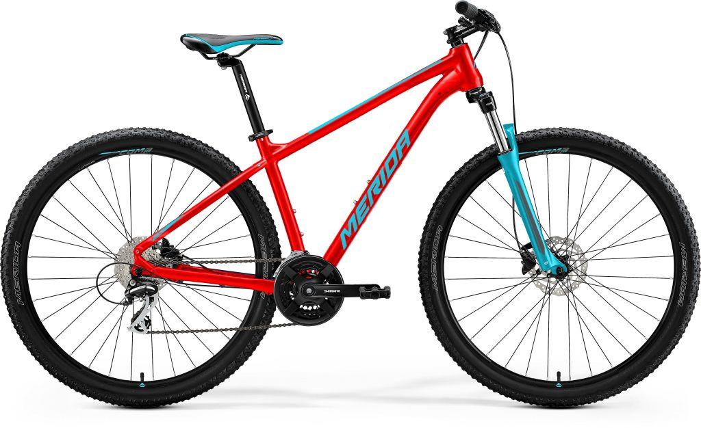 Big Seven 20 Matt Race Red / Teal Blue