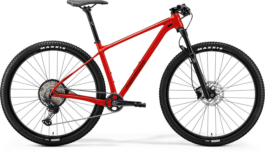 Big Nine Limited Glossy Race Red / Matt Red
