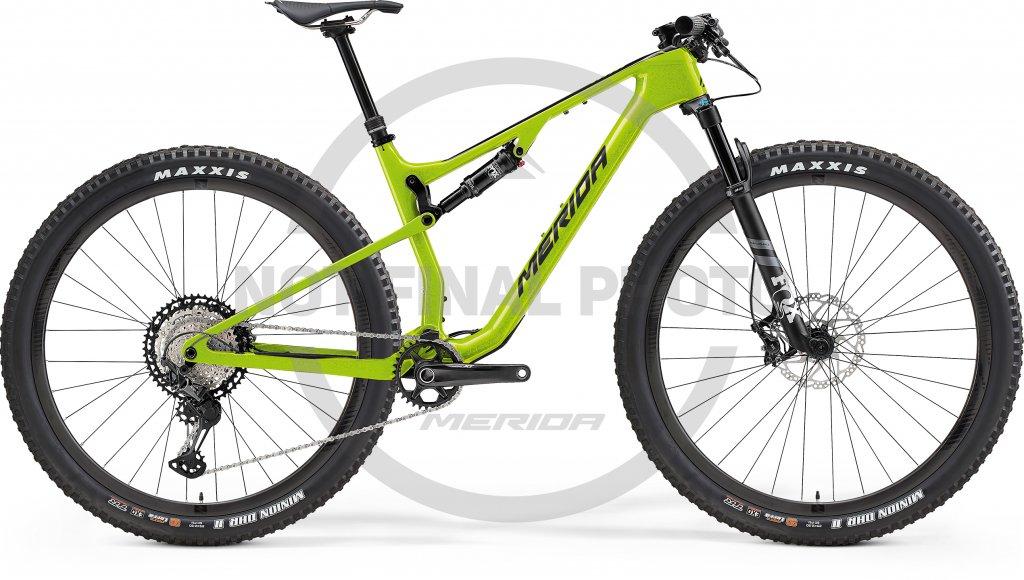 Ninety-Six 7000 Glossy Merida Green / Black