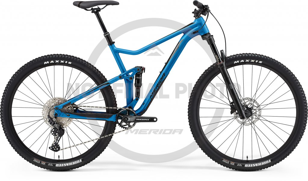 One-Twenty 600 Silk Blue / Black