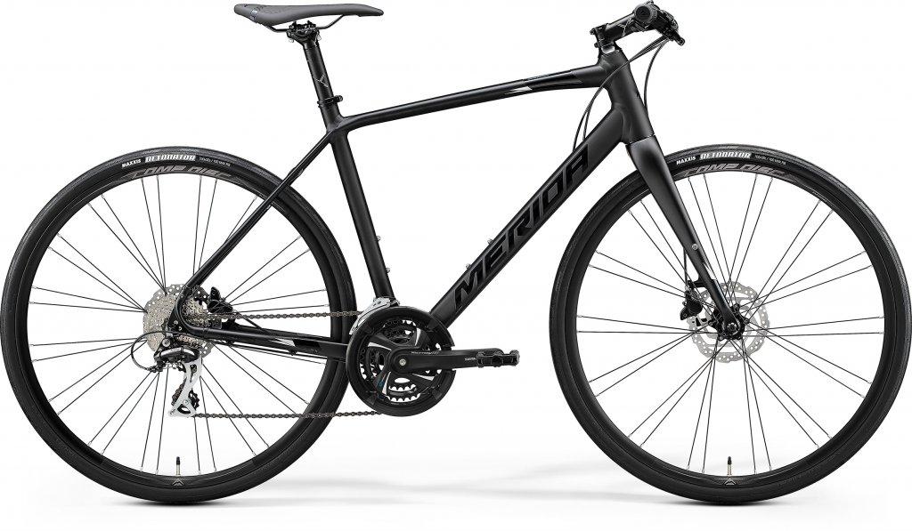 Speeder 100 Matt Black / Glossy Black / Silver