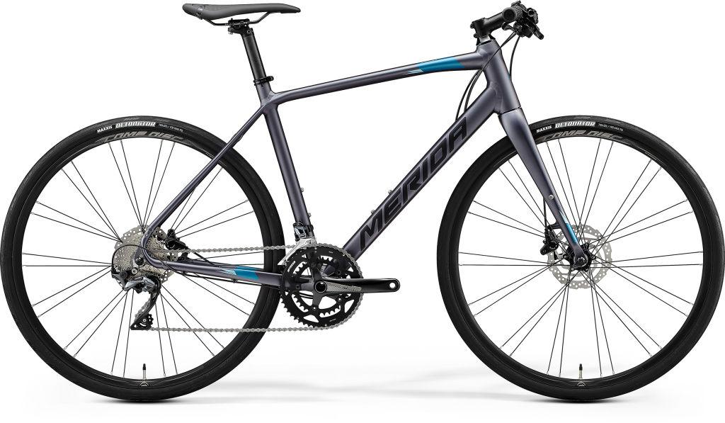 Speeder 500 Matt Anthracite / Black / Blue