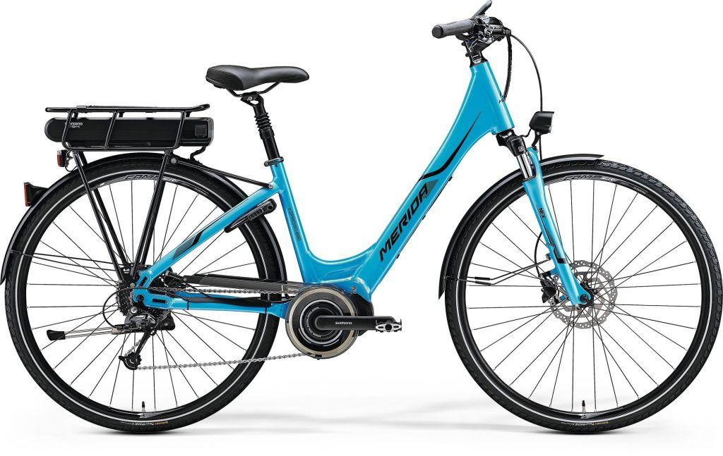 E-Spresso CITY 600 EQ glanzend blauw