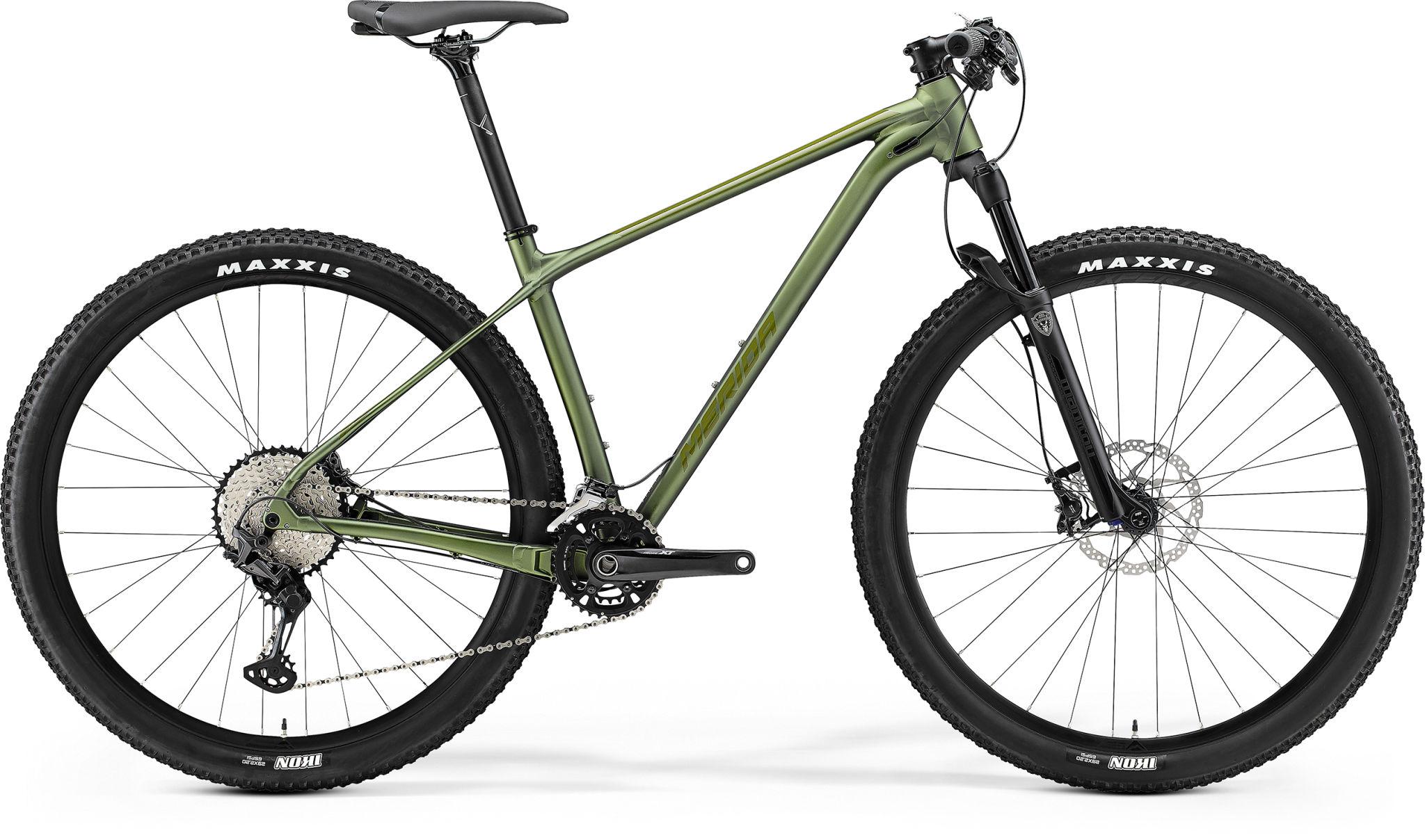 Big Nine 700 Matt Fog Green/glossy Moss Green