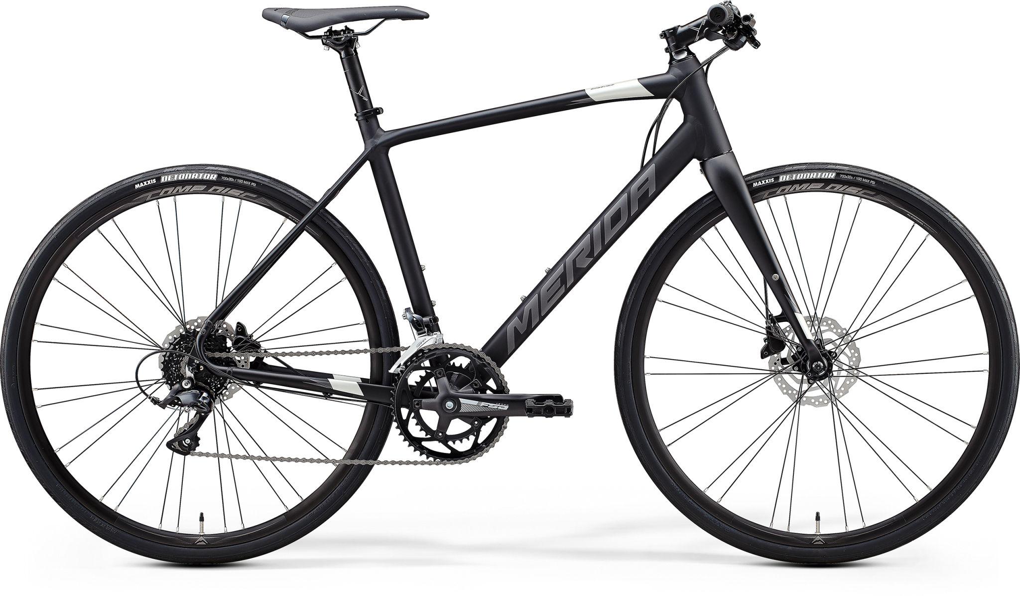 Speeder 200 Matt Black/silver L 56cm